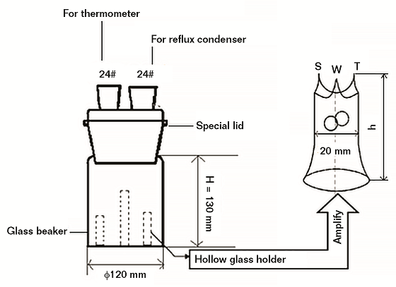 FIGURE 2 Pitting corrosion test device schematic.